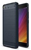 Eiroo Carbon Shield Xiaomi Mi 5s Ultra Koruma Lacivert Kılıf
