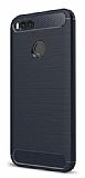 Eiroo Carbon Shield Xiaomi Mi 5X / Mi A1 Ultra Koruma Lacivert Kılıf
