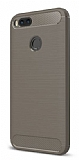 Eiroo Carbon Shield Xiaomi Mi 5X Ultra Koruma Gri Kılıf