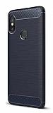 Eiroo Carbon Shield Xiaomi Mi 8 SE Ultra Koruma Lacivert Kılıf