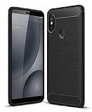 Eiroo Carbon Shield Xiaomi Mi 8 Ultra Koruma Siyah Kılıf