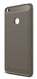 Eiroo Carbon Shield Xiaomi Mi Max 2 Ultra Koruma Gri Kılıf