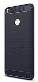 Eiroo Carbon Shield Xiaomi Mi Max 2 Ultra Koruma Lacivert Kılıf