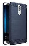 Eiroo Carbon Shield Huawei Mate 10 Lite Ultra Koruma Lacivert Kılıf