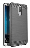 Eiroo Carbon Shield Huawei Mate 10 Lite Ultra Koruma Gri Kılıf