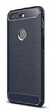 Eiroo Carbon Shield Xiaomi OnePlus 5T Ultra Koruma Lacivert Kılıf