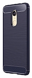 Eiroo Carbon Shield Xiaomi Redmi 5 Ultra Koruma Lacivert Kılıf