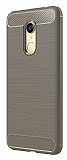 Eiroo Carbon Shield Xiaomi Redmi 5 Ultra Koruma Gri Kılıf