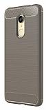 Eiroo Carbon Shield Xiaomi Redmi 5 Plus Ultra Koruma Gri Kılıf