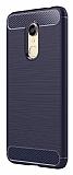 Eiroo Carbon Shield Xiaomi Redmi Note 5 / Redmi 5 Plus  Ultra Koruma Lacivert Kılıf