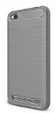 Eiroo Carbon Shield Xiaomi Redmi 5A Ultra Koruma Gri Kılıf