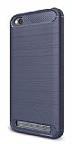 Eiroo Carbon Shield Xiaomi Redmi 5A Ultra Koruma Lacivert Kılıf