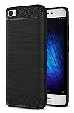 Eiroo Carbon Shield Xiaomi Redmi 4A Ultra Koruma Siyah Kılıf