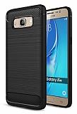 Eiroo Carbon Shield Samsung Galaxy J5 2016 Ultra Koruma Siyah Kılıf