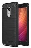 Eiroo Carbon Shield Xiaomi Redmi Note 4 / Redmi Note 4X Ultra Koruma Siyah Kılıf