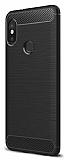 Eiroo Carbon Shield Xiaomi Redmi Note 5 Pro Ultra Koruma Siyah Kılıf