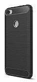 Eiroo Carbon Shield Xiaomi Redmi Note 5A / Note 5A Prime Ultra Koruma Siyah Kılıf