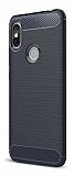 Eiroo Carbon Shield Xiaomi Redmi S2 Ultra Koruma Lacivert Kılıf