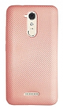 Eiroo Carbon Thin Casper Via M3 Ultra İnce Rose Gold Silikon Kılıf
