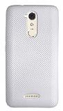 Eiroo Carbon Thin Casper Via M3 Ultra İnce Silver Silikon Kılıf