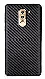 Eiroo Carbon Thin Huawei GR5 2017 Ultra İnce Siyah Silikon Kılıf