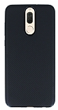 Eiroo Carbon Thin Huawei Mate 10 Lite Ultra İnce Siyah Silikon Kılıf