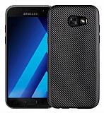 Eiroo Carbon Thin Samsung Galaxy A5 2017 Ultra İnce Siyah Silikon Kılıf
