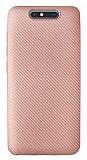 Eiroo Carbon Thin Turkcell T80 Ultra İnce Rose Gold Silikon Kılıf