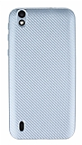 Eiroo Carbon Thin Vestel Venus 5000 Ultra İnce Silver Silikon Kılıf