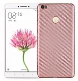 Eiroo Carbon Thin Xiaomi Mi Max Ultra İnce Rose Gold Silikon Kılıf