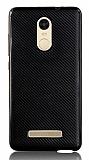 Eiroo Carbon Thin Xiaomi Redmi Note 3 Ultra İnce Siyah Silikon Kılıf