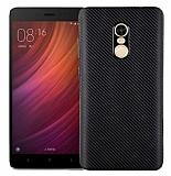 Eiroo Carbon Thin Xiaomi Redmi Note 4 / Redmi Note 4X Ultra İnce Siyah Silikon Kılıf