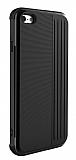 Eiroo Card Slot iPhone 6 / 6S Ultra Koruma Siyah Kılıf