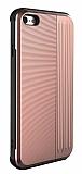 Eiroo Card Slot iPhone 6 / 6S Ultra Koruma Rose Gold Kılıf