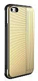 Eiroo Card Slot iPhone 6 / 6S Ultra Koruma Gold Kılıf