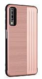 Eiroo Card Slot Samsung Galaxy A7 2018 Ultra Koruma Rose Gold Kılıf