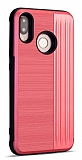 Eiroo Card Slot Samsung Galaxy M20 Ultra Koruma Kırmızı Kılıf