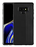 Eiroo Card Slot Samsung Galaxy Note 9 Ultra Koruma Siyah Kılıf