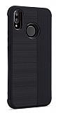 Eiroo Card Slot Xiaomi Mi A2 Lite Ultra Koruma Siyah Kılıf