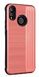 Eiroo Card Slot Xiaomi Mi A2 Lite Ultra Koruma Kırmızı Kılıf