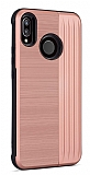 Eiroo Card Slot Xiaomi Mi A2 Lite Ultra Koruma Rose Gold Kılıf