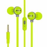 Eiroo Cartoon Mikrofonlu Kulakiçi Yeşil Kulaklık