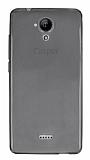 Casper Via E1 Ultra İnce Şeffaf Siyah Silikon Kılıf