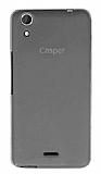 Casper Via V3 Ultra İnce Şeffaf Siyah Silikon Kılıf