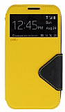 Eiroo Clasps Samsung N7100 Galaxy Note 2 Standl� Pencereli Sar� Deri K�l�f