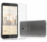 Eiroo Clear Alcatel A3 XL Şeffaf Silikon Kılıf