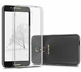 Eiroo Clear Alcatel A7 XL Şeffaf Silikon Kılıf