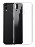Eiroo Clear Hybrid Honor 8C Silikon Kenarlı Şeffaf Rubber Kılıf