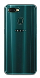 Eiroo Clear Hybrid Oppo AX7 / Oppo A5s Silikon Kenarlı Şeffaf Rubber Kılıf