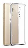 Eiroo Clear Hybrid Xiaomi Mi 5s Plus Silikon Kenarlı Şeffaf Rubber Kılıf